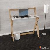 Modilayn X Çalışma Masası Beyaz Cordoba Ard310...