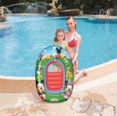 Plaj Topu Hediyeli Bestway 91003 Mickey Mouse Havuz & Deniz Botu