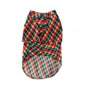 Pawstar Köpek Kıyafeti Ekose Kumaş Renkli 30 49 Cm...
