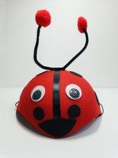 çocuk Uğur Böceği Şapkası