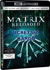 Matrix Reloaded 4k Ultra Hd+blu Ray+bonus 3 Disk