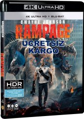 Rampage Büyük Yıkım 4k Ultra Hd+blu Ray 2 Disk