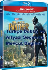 Black Panther 3d+2d Blu Ray 2 Disk