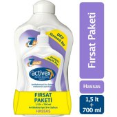 Activex Sıvı Sabun 1500 Ml+700ml