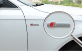 Audi S Line Yan Çamurluk Metal 3m Amblem