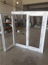 110x130 Orpen Çift Cam,çift Kanat Pencere