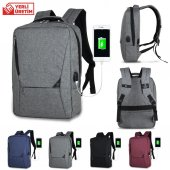 My Valice Smart Bag Active Usb Şarj Girişli Slim S...