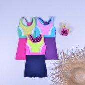 Endeep Kız Çocuk Şortlu Mayo Bikini 21506