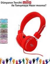 Mıla Ml X7 Red X7 Telefon & Pc Uyumlu Kulaklık Mic...