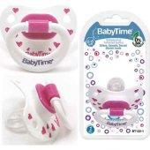 Baby Time Silikon Damaklı Emzik (Desenli) N.3 18+ ...