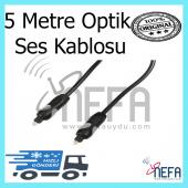 Optik Ses Kablosu 5 Metre Garantili Ürün