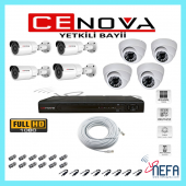 Cenova 8 Li Ahd Güvenlik Kamera Sistemi