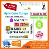 5 Kanal 6 Ay Redlight Hd,husler Hd,private Tv,dorcel Tv,brazzers