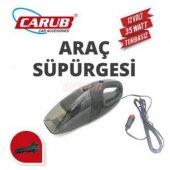 Carub Br 090 90 03 Araç Süpürgesi 12 Volt 35w Torbasız