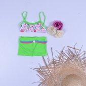 Sam Kız Çocuk Elbise Bikini Mayo 23012