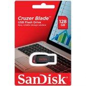 Sandisk Cruzer Blade 128gb Usb Bellek (Sdcz50 128g B35)