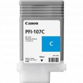 Canon 6706b001 Pfı 107c Cyan Kartus (130 Ml)ıpf 670 Ipf 680 Ipf 6
