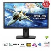 24 Asus Vg245h Gaming, Led, Free Sync 1920x1080 1ms, 75hz 3yıl Hd
