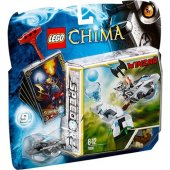 Lego 70106 Legends Of Chima Speedorz Ice Tower