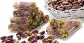 Vanilya Aromalı Fıstıklı Fitil Lokum (1kg)