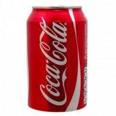 Coca Cola Kutu Kola 330ml (24 Lü Koli)