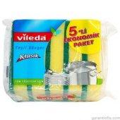 Vileda Bulaşık Süngeri Klasik (5 Li Paket)