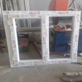 110x110 Orpen Çift Cam, Tek Kanat Pencere