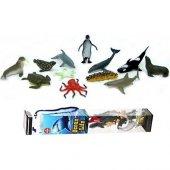 Bircan Oyuncak Deniz Hayvanları Okyanus Hayvan Set