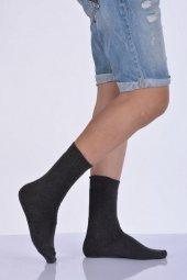 Pamuk Havlu Erkek Soket Çorabı Koyu Gri E Art216