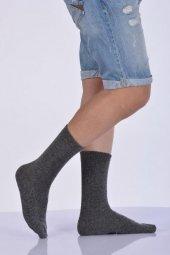 Yün Erkek Soket Çorabı Gri E Art223