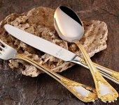 Aryıldız Pera Altın 89 Parça Çatal Bıçak Takımı