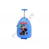 Mçs Abs Valiz Live To Ride Mavi Çocuk Valiz