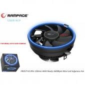 Rampage Frosty B 120mm Mavi Ledli (Amd İntel) Fan