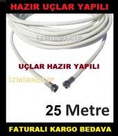 çanak Lnb Hat Line Kablosu 25mt Full Hd 3d 4k Hazır Tak Çalıştır