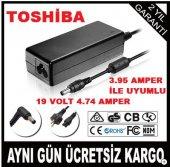 Toshiba Uyumlu 19v 4.74 A Şarj Adaptörü Şarz Aleti Kaliteli Ürün