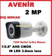 Avenir Sensör 2 Megapixel Lens 3 Megapixel Ahd Kamera