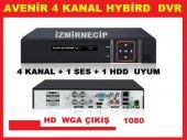 Avenir Hibrit Hybird 4 Kanal Analog Ve Ahd Dvr Kamera Kayıt Cihaz