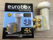 Eurobox Bağımsız 4 Çıkış Hd 3d 4k Uyumlu Lnb Elenbi Lenebe
