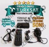 Hd Girişli Led Tv Uyumlu Mini Uydu Alıcısı Tkgs Güncellemeli