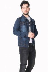 Vikings Jeans Erkek Kot Ceket Mont Km014