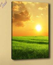 Sz1728 Güneş Doğuyor Kanvas Tablo 70x100cm