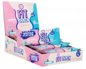 Muscle Station Fit Snack Coconut Protein Bar 40 Gr 24 Adet