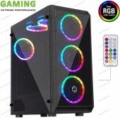 Frisby Fc 8890g Coax 650w Psu 6x12cm Rgb Fanlı Kumandalı Pencereli Gaming Oyuncu Bilgisayar Kasası
