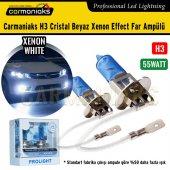 Carmaniaks H3 Cristal Beyaz Xenon Effect Far Ampülü