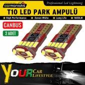 Carmaniaks Canbus Arıza Işığı Yakmayan 15 Ledli T10 Beyaz Park Ampülü Crm10076