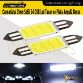 Carmaniaks 31mm Sofit 24 Cob Led Tavan Ve Plaka Ampulü Beyaz