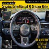 Audi Yeni A3 A4l A5 Karbon Direksiyon Sticker Rs Crm7062