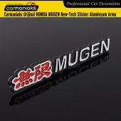 Carmaniaks Orijinal Honda Mugen New Tech Sticker Aluminyum Arma