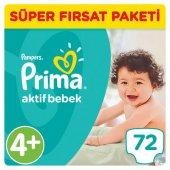 Prima Süper Fırsat Maxi Plus (4+) 9 16 Kg 72 Li