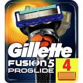 Fusion Proglide Yedek Tıraş Bıçagı 4 Lü